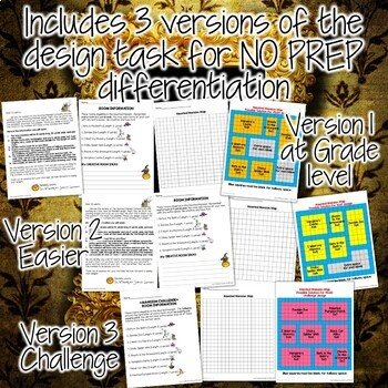 Halloween Math Project: Measurement for Grades 2-4 {3 differentiated versions}