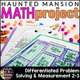 Halloween Math Project for 2nd Grade 3rd Grade | Haunted H