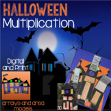 Halloween Math Activity - Multiplication Arrays