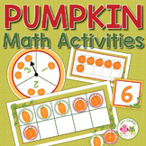 Pumpkin Math Activities | Pumpkins Counting & Math for Pre