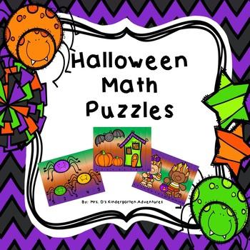 Halloween Math Puzzles