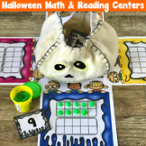 Halloween Math & Reading Centers!