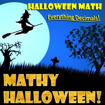 Halloween Math Review - Everything Decimals!