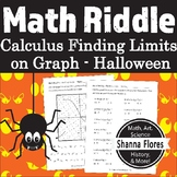 Halloween Math Riddle - Calculus - Using a Graph to find L