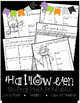 Halloween NO PREP Cut & Paste, Color By Number, & Riddles