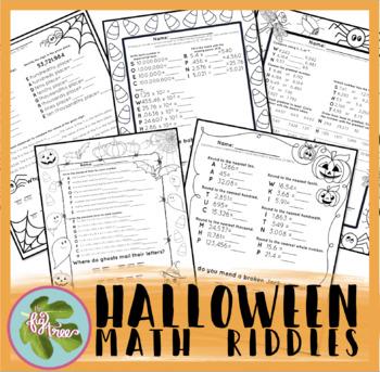 Halloween Math Riddles