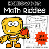 Halloween Math Riddles for 2nd Grade