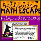 Halloween Math STEM Relay Activity