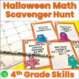 Halloween Math Review 5th Grade