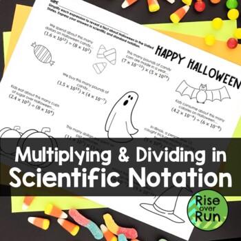 Halloween Math: Scientific Notation