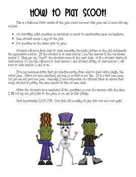 Halloween Math Scoot