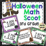 3rd Grade Halloween Activities: 3rd Grade Halloween Math Scoot