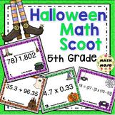 5th Grade Halloween Math Activities - 5th Grade Math Scoot Games