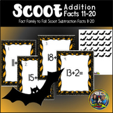 Halloween Math Scoot Game with Addition 11 to 20
