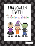 Halloween Math - Second Grade Spooktacular!