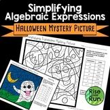 Halloween Math: Simplifying Algebraic Expressions