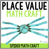 Halloween Math Spider Craftivity