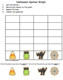 Halloween Math-Spinner Graph