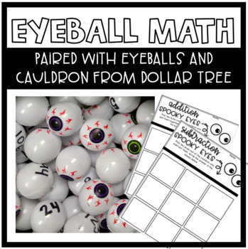 Halloween Math Spooky Eyes