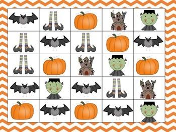 Halloween Math Stations