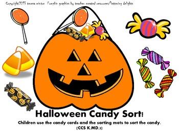 Halloween Math Stations and Activities for Kindergarten