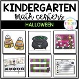 Halloween Kindergarten Math Centers