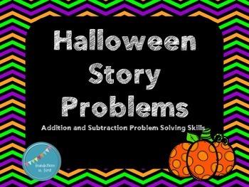 Halloween Math Story Problems