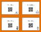 Halloween Math: Subtracting Integers QR Code Task Cards