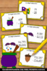 Halloween Math Activities & Games 4th 5th Grade Subtraction Task Cards