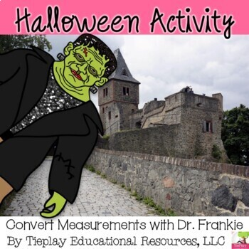 Halloween Frankie's Conversion Monster Math