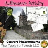 Halloween Frankie's Conversion Math Distance Time Volume Mass Measurement