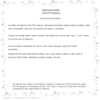 Halloween Monster Math