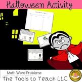 Halloween Monster Math Problem Solving Center Stations