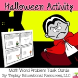 Halloween Monster Math Problem Solving Center Stations