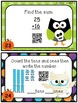 Halloween Math Task Cards & QR Codes