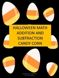 Halloween Math - Three - Digit Addition and Subtraction Ca