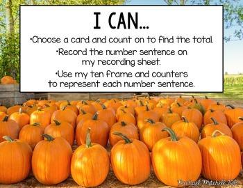 October Math Tubs