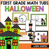 Halloween Math Centers - First Grade