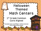 Halloween Math Tubs - Gr.1 CCSS Aligned