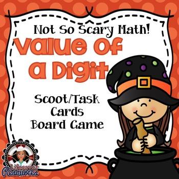 Halloween Math Place Value