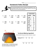 Halloween Math With Regrouping (Addition and Subtraction)