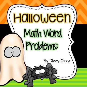 Halloween Math Word Problems