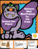 Halloween Math Word Problems For 2nd Grade: Common Core Aligned