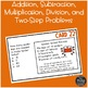 Halloween Word Problems {Math Task Cards}