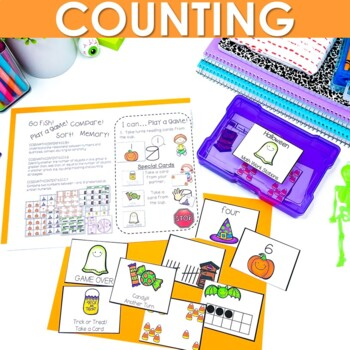 Math Stations ~ Halloween