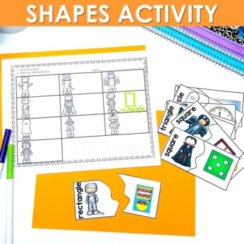 Kindergarten Math Centers | Halloween