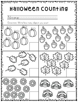 halloween math worksheets by ample adventures  teachers pay teachers halloween math worksheets