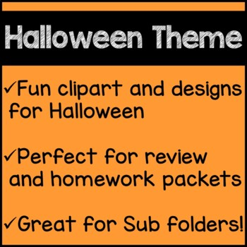 Halloween Math Worksheets 5th Grade Common Core