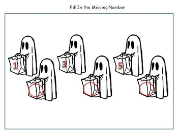 Halloween Activities - Skip Counting and Comparing Numbers