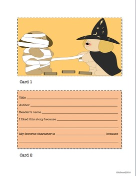 Halloween Writing and Math Activities!